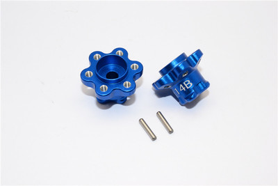 AXIAL YETI ALLOY 2.2 WHEEL HUB ADAPTERS (14MM THICKNESS)