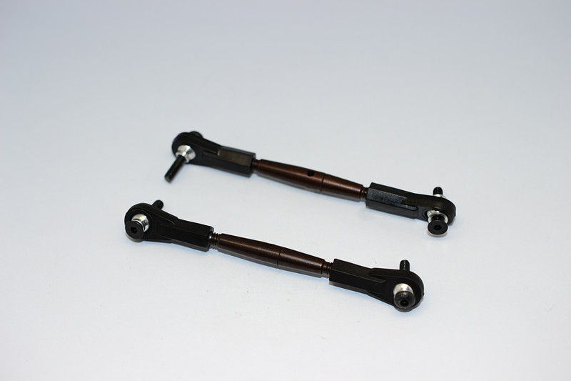 AXIAL YETI SPRING STEEL STEERINGANTI-THREAD TIE ROD WITH PLASTIC ENDS