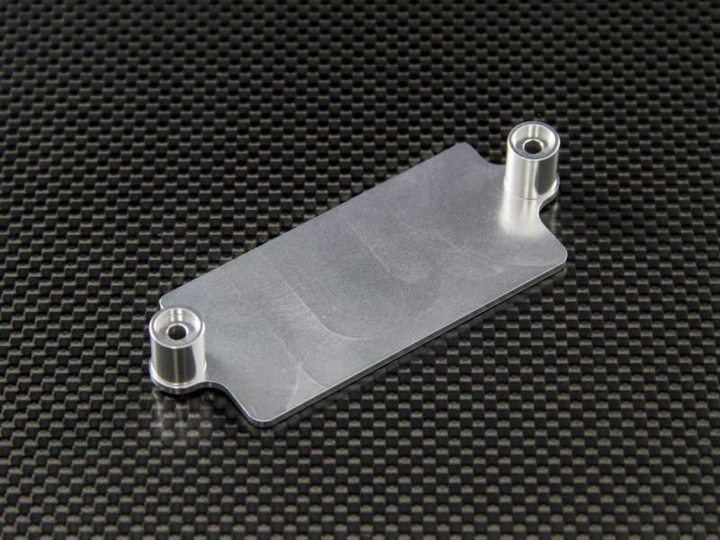Tamiya TRACTOR TRUCK ALLOY RECEIVER BOTTOM PLATE - 1PC